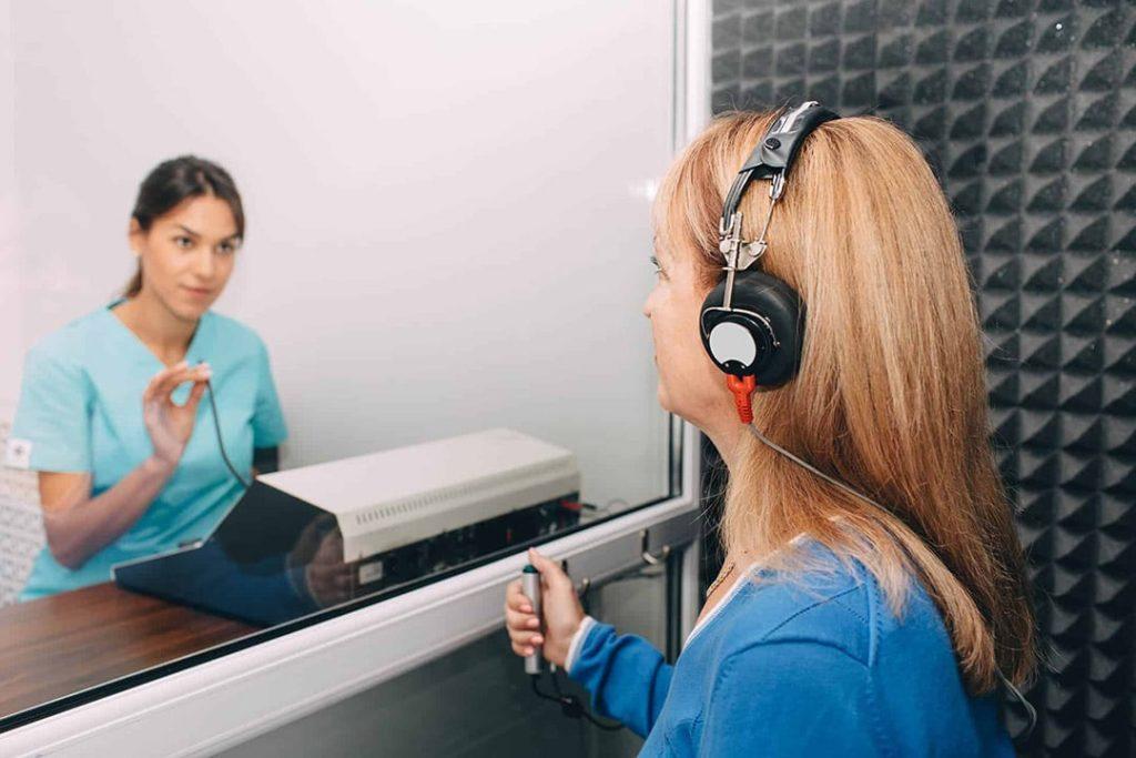 Prueba auditiva- audiometría